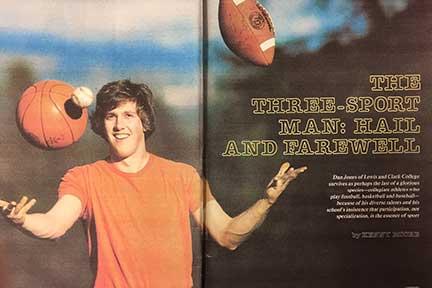 Dan Jones - Marshall 1977 - Sports Illustrated article